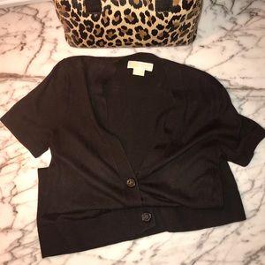 ☕️MK Short Sleeved Cardigan